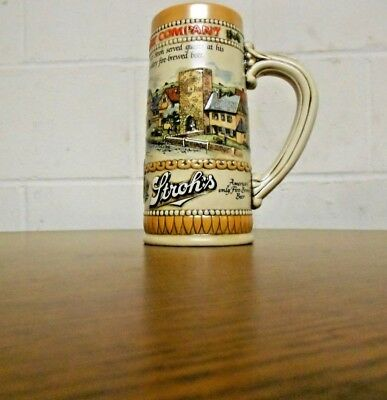 1985 S 85 Collectable Strohes Heritage Series Two  Stein German City Scene