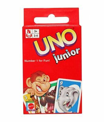UNO - JUNIOR - Card Game - Fast and fun for Children age 3+ by Mattel
