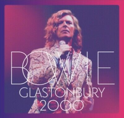 David Bowie - Glastonbury 2000 *NEW* CD