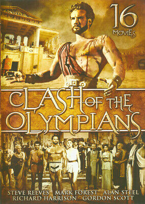 Clash of the Olympians - 16 Movie Set New DVD