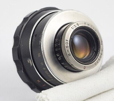 INDUSTAR 50U F/3.5 50mm m39 LENS FOR ENLARGER WITH FOCUSING HELICOID - INFINITY