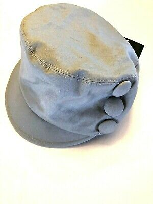b011fddf SAN DIEGO HAT COMPANY One Size Women's Gray Cadet Style Cap Three Buttons  NWT