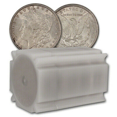 US Morgan Silver Dollar - Roll of 20 coins - XF/AU - Pre 1921 Random Date