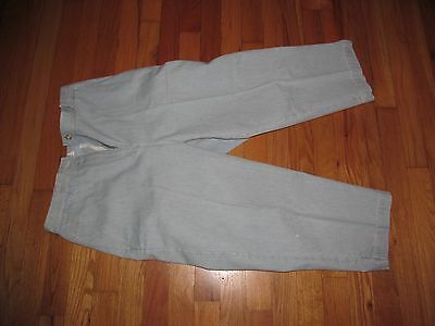 Womens Christopher 7 Banks Blue Cropped /Capris Pants Size 8 Very Good Condition