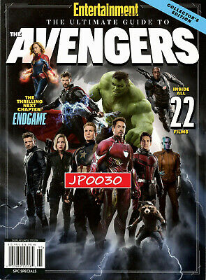 Entertainment Weekly Collector's 2019, The Ultimate Guide To The Avengers,Sealed