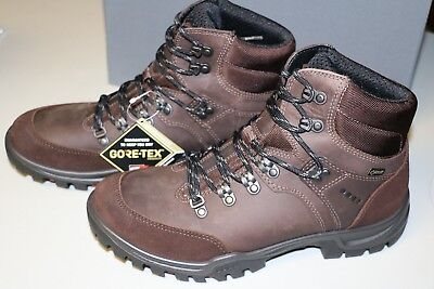 fb8e3418b911 ECCO Men s Xpedition III GTX Gore-Tex Hiking Boots New In Box 42 Coffee
