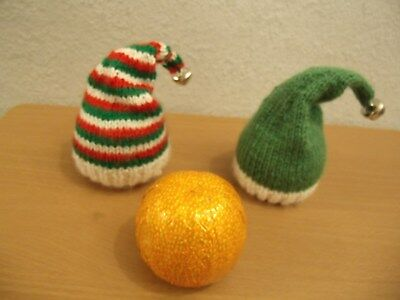 CHOCOLATE ORANGE COVER  CHAMPAGNE BOTTLE  KNITTING PATTERN /& WOOL FOR 2 COVERS