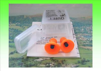 4 Quality Ear Plugs/Defenders With Carry Case. Reusable