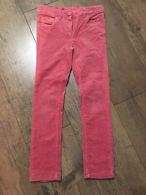 Next Girls pink Cords age 8