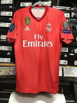 317207dcf Adidas Real Madrid Parley Jersey 2019 Champions League Edition Size Medium  Only