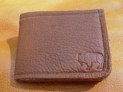 BLACK LEATHER Business Credit Card Case Wallet hand crafted by disabled Navy vet