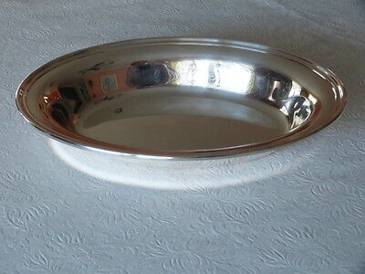 """Silver Plate Large Oval Serving Bowl Dish Gorham YC 426/4 10.75"""" Long 397 Grams"""