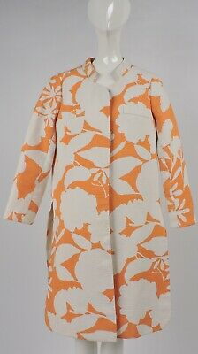 Vintage 1950'S Saks 5Th Ave Tropical Pattern Coat For Dress
