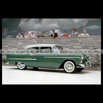 Fotografie Auto's #pha.024275 Photo CHEVROLET BEL AIR 4-DOOR SEDAN 1956 Car Auto