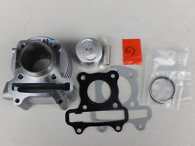 Gy6 139Qmb Engine 44Mm Cylinder Rebuilt Kit For 50Cc Taotao,Peace,Roketa Scooter