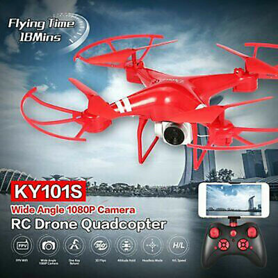 App Control Drone HD Wifi FPV  KY101 RC Quadcopter Long Flight Time With Camera