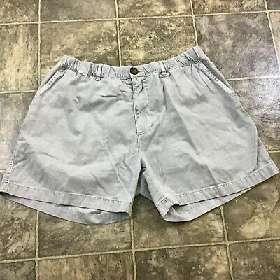 "0ba14b918 Chubbies Shorts 5.5"" Inseam Men's Size L Large Color Gray Elastic Waist"