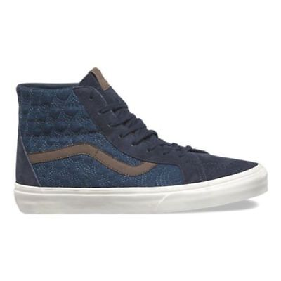 83de4d1eeb8814 VANS Sk8 Hi Reissue DX Men s Shoes Size 10.5 (Pig Suede Denim) Parisian