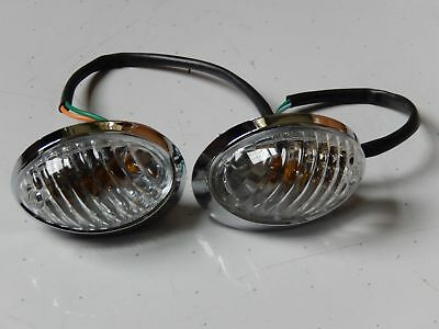Front Right & Left Turn Signals For Roketa Peace Tpgs-811 50Cc 150Cc Scooters