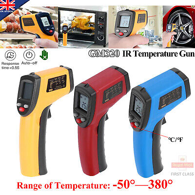 Handheld LCD Digital Thermometer Temperature Infrared Non-Contact IR Gun NEW