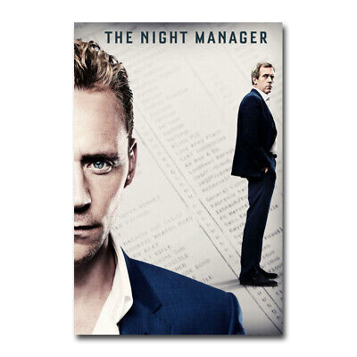 The Night Manager TV Series Art Canvas Silk Poster Print 13X20 24X36 inch
