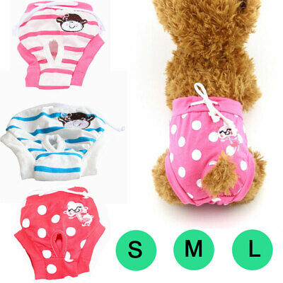 Stylish Female Pet Dog Diaper Pants Physiological Sanitary Puppy Short Underwear