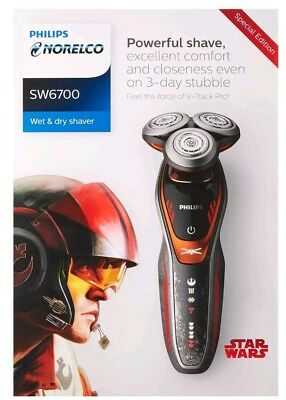 Philips Norelco Special Edition Star Wars Poe Wet & Dry Electric Shaver SW6700