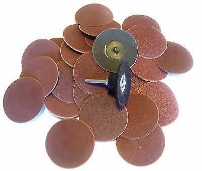 """24 pcs 1/"""" Surface Prep Discs IIT 81960 Pads Assorted Pack Type R"""