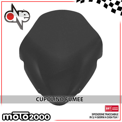 Cupolino Parabrezza Basso Fumee One Yamaha Tmax T-Max T Max 500 2001 - 2007