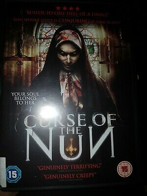The Curse Of The Nun DVD UK Region 2 Stock 2018