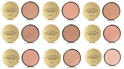 Max Factor Creme Puff Pressed Compact Powder, 21 g - Choose Your Shade