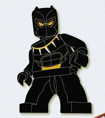 Embroidery files Black Panther Lego Embroidery Design character Super Heroes