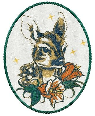 Deer - Machine Embroidery Pattern Digital embroidery design Fawn PES Jef DST VIP