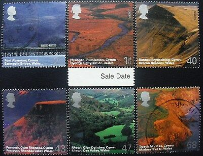 GB 2004 A British Journey: Wales Off Paper Used Set