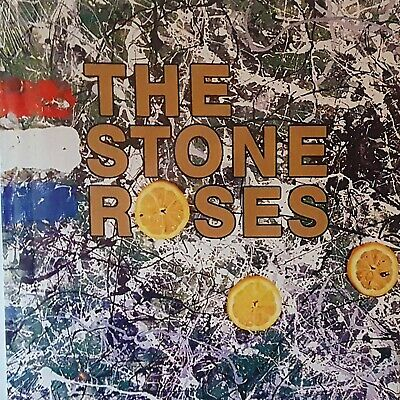 """Reproduction """"The Stone Roses"""" Album Cover Poster, Size: 16"""" x 16"""""""