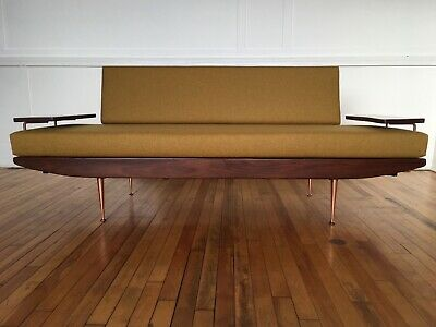 Midcentury British 1950's Sofa Bed / Day Bed by Toothill