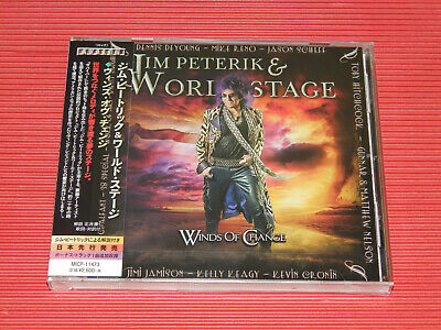 2019 JAPAN CD JIM PETERIK & WORLD STAGE Winds Of Change  with  BONUS TRACK