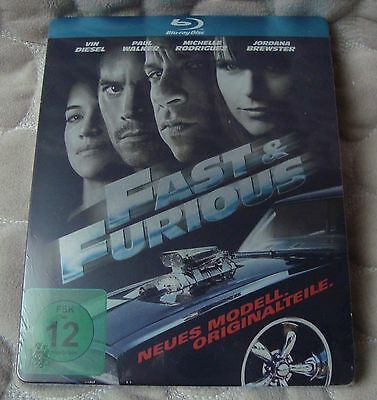 Fast & Furious 4 BluRay SteelBook FIRST EDITION NEW & SEALED Vin Diesel