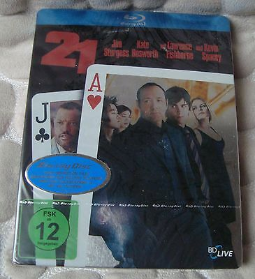 21 BluRay SteelBook FIRST Edition MM exclusive EDITION NEW & SEALED Kevin Spacey