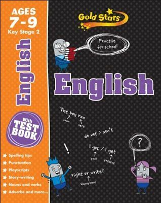 Gold Stars KS2 Age 7-9 English (Gold Stars Ks2 Workbooks), New, Gold Stars Book