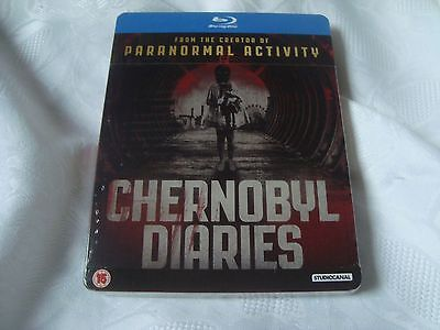 CHERNOBYL DIARIES BluRay SteelBook NEW&SEALED excl. Limited Edition