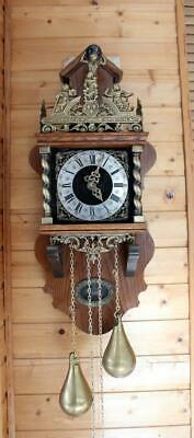 Beautiful  Vintage Dutch WARMINK Zaanse Wall Clock  (ZA 16)
