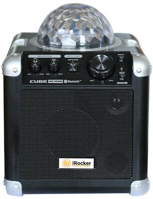 Karaoke Music Machine Portable Bluetooth Wireless Party Speaker iRocker