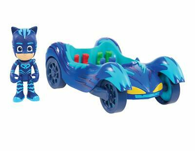 PJ MASKS Vehicle Mini Articulated Action Figure Kids Play Toy Catboy Cat Car