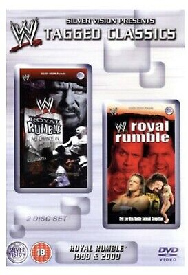 WWE - Tagged Classics Royal Rumble 1999 & 2000 (DVD) 99 00 WWF Rare