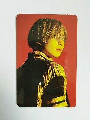 "K-POP SHINee TAEMIN Mini Album ""WANT"" Official Limited Taemin Photocard"