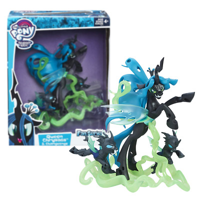 New My Little Pony Queen Chrysalis & Changelings Figure Fan Series MLP Official