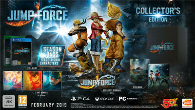Jump Force Collector's Edition (One Piece Naruto Dragon Ball) PS4 Playstation 4