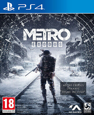 Metro Exodus - Day One Edition PS4 Playstation 4 DEEP SILVER