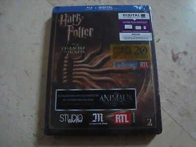 Harry Potter and the Chamber of Secrets SPOT GLOSS Blu-Ray SteelBook NEW&SEALED